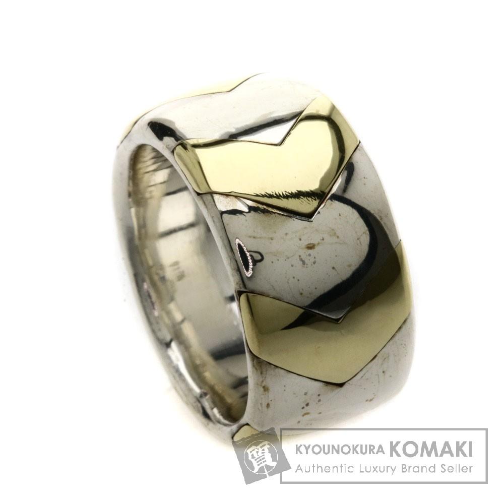 TIFFANY&Co. コンビ リング・指輪 SV レディース 【中古】【ティファニー】