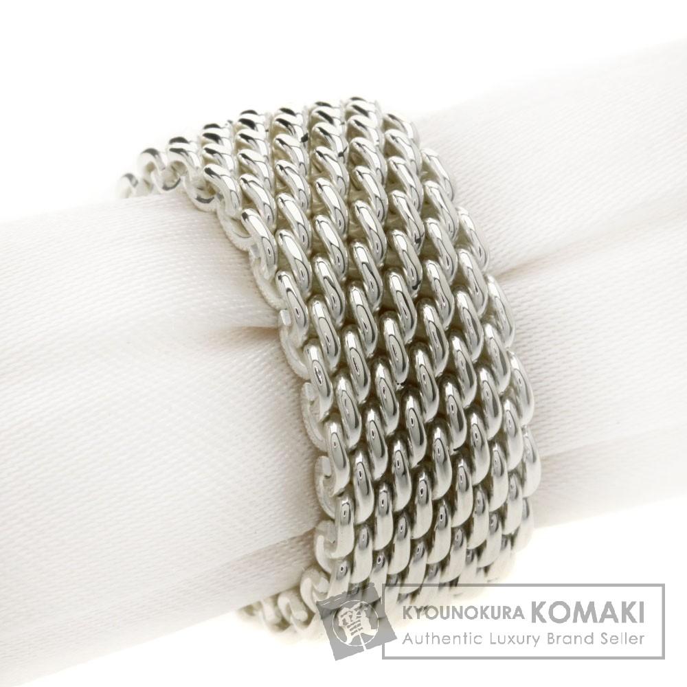 TIFFANY&Co. サマセットメッシュ リング・指輪 SV メンズ 【中古】【ティファニー】