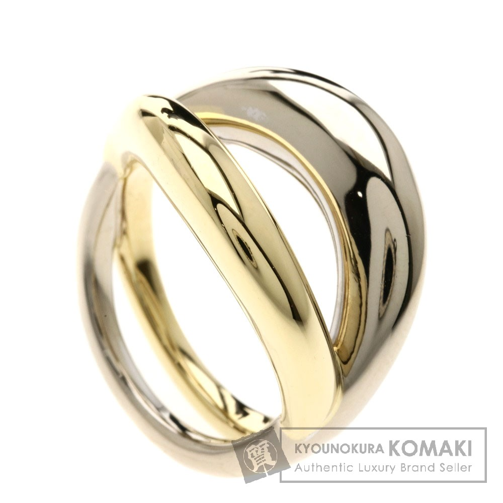 MAUBOUSSIN 2カラー リング・指輪 K18イエローゴールド/K18WG レディース 【中古】【モーブッサン】