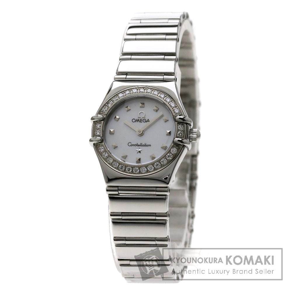 OMEGA 1465-71 コンステレーション 腕時計 ステンレススチール/ダイヤモンド レディース 【中古】【オメガ】