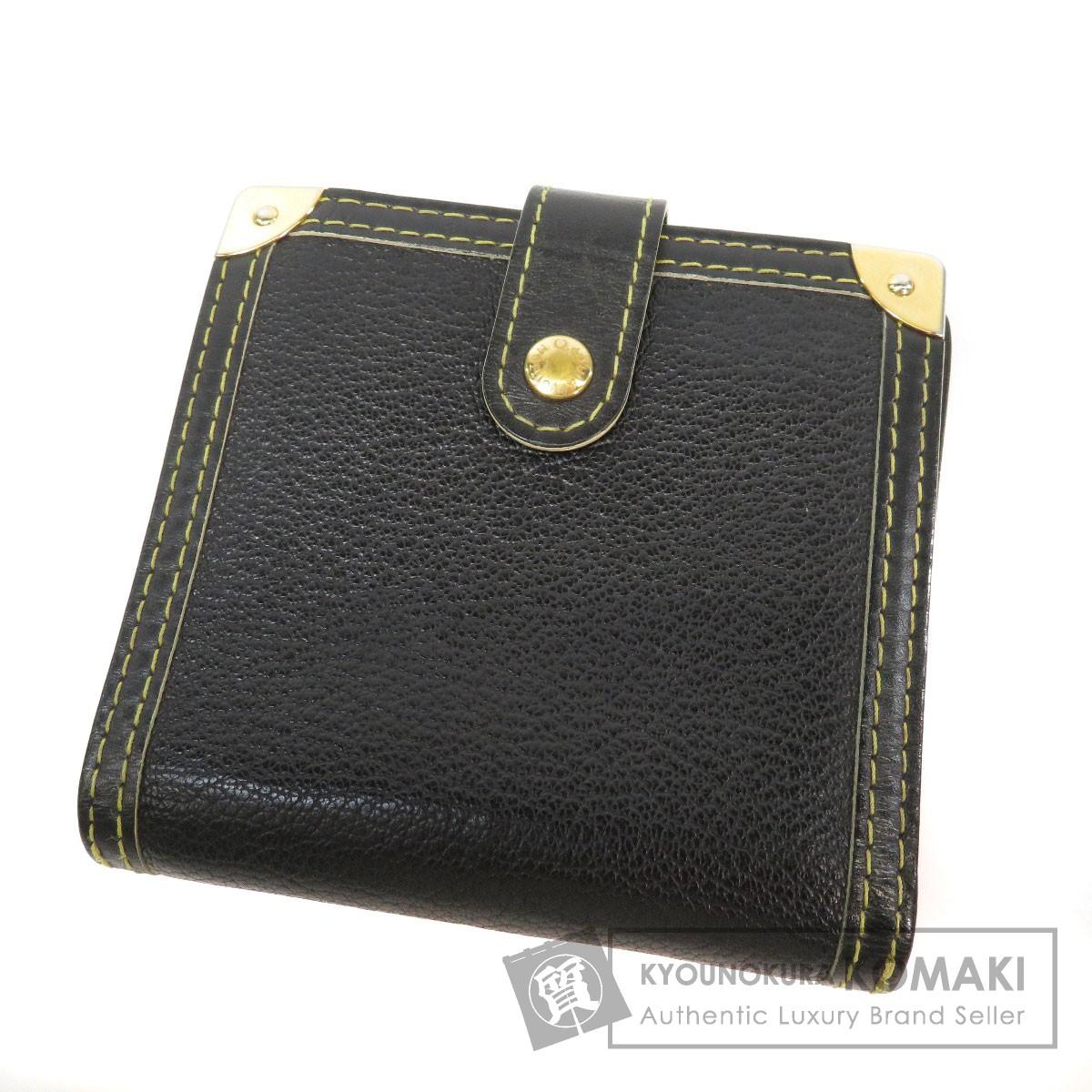 LOUIS VUITTON M91828 スハリライン コンパクトジップ 二つ折り財布(小銭入れあり) レザー レディース 【中古】【ルイ・ヴィトン】