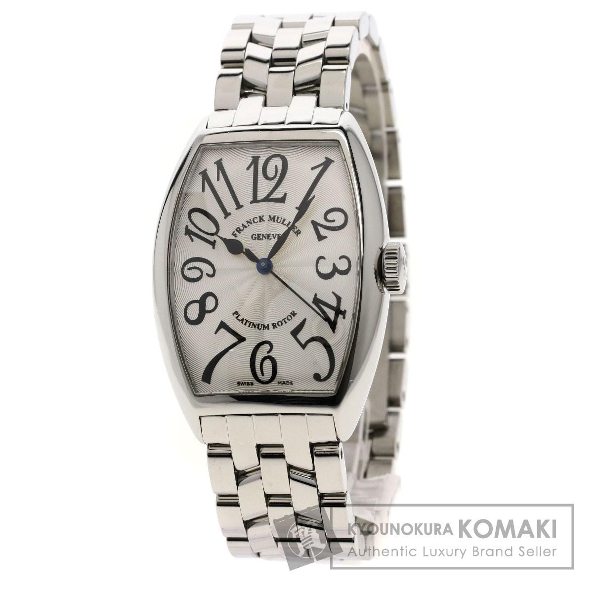 FRANCK MULLER 5850SC トノウカーベックス 腕時計 OH済 ステンレススチール メンズ 【中古】【フランクミュラー】