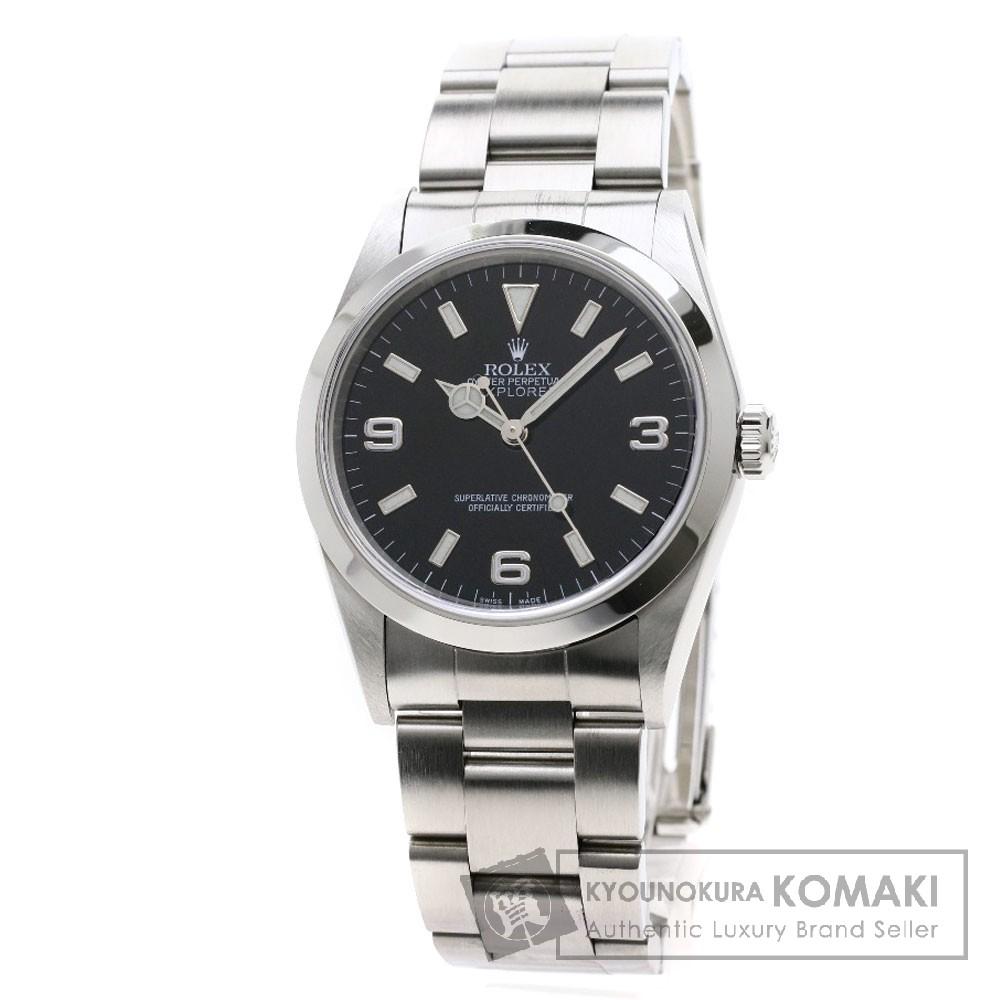 人気ブランドの ロレックス 14270 エクスプローラー1 ステンレススチール 腕時計 腕時計 OH済 ステンレススチール メンズ【【】】【ROLEX】, エクサイトセキュリティ:76bbb11b --- baecker-innung-westfalen-sued.de