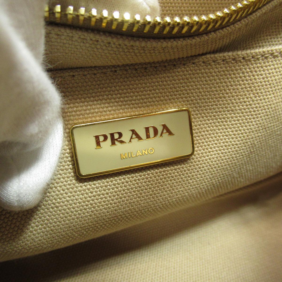 PRADA カナパミニ 2way ハンドバッグ キャンバス レディース 【】【プラダ】