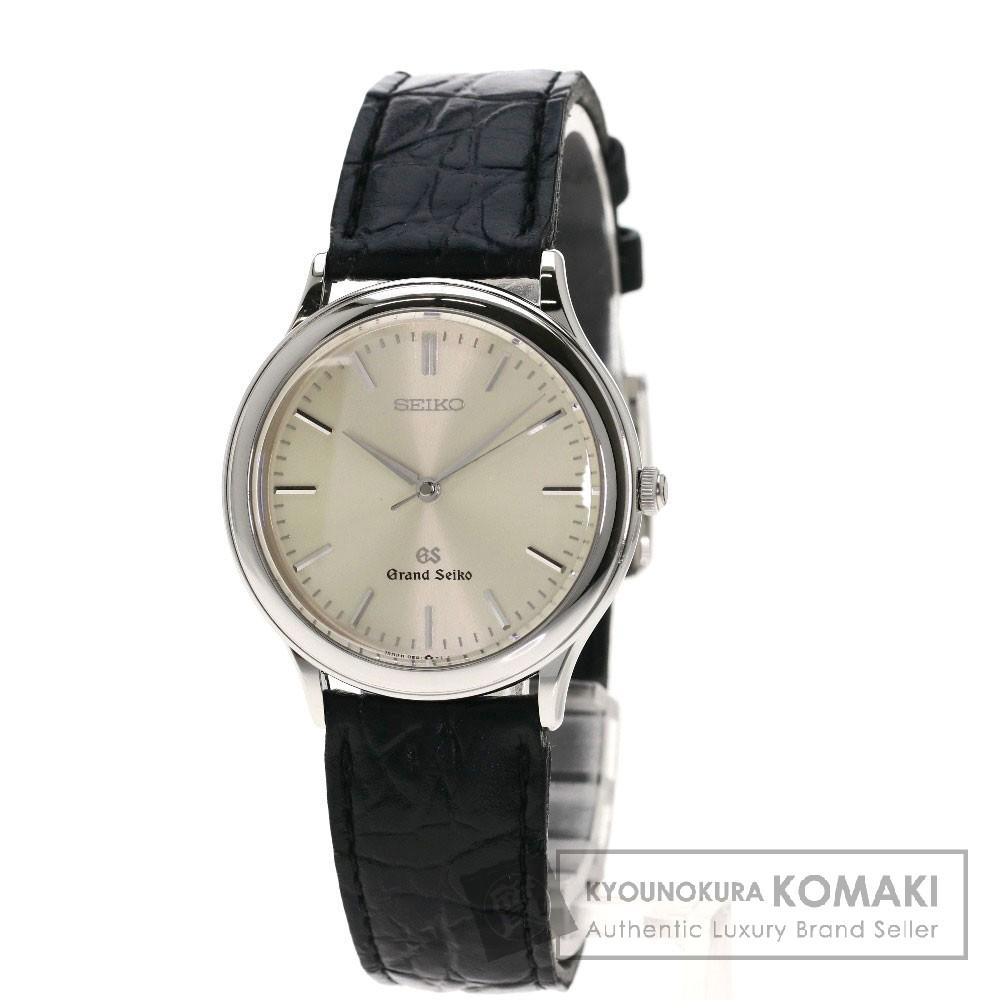 SEIKO 9581-7000 グランドセイコー 腕時計 ステンレススチール/革 メンズ 【中古】【セイコー】
