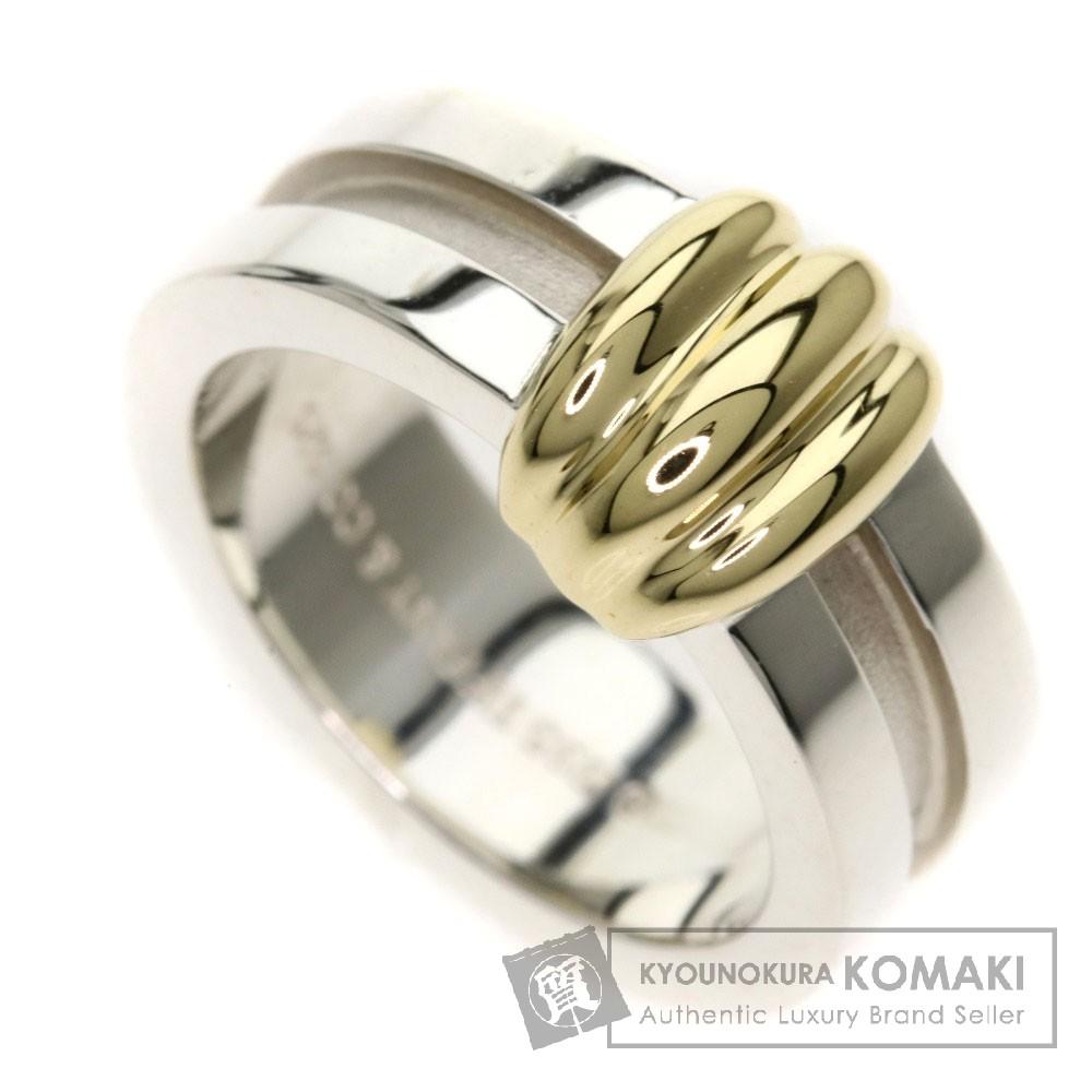 TIFFANY&Co. コンビ リング・指輪 K18イエローゴールド レディース 【中古】【ティファニー】