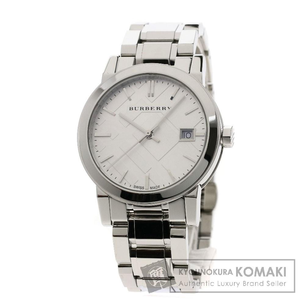 BURBERRY BU9100 腕時計 ステンレススチール メンズ 【中古】【バーバリー】