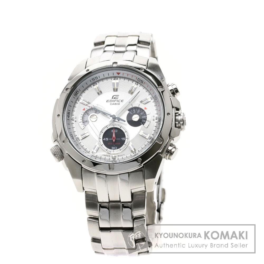 CASIO エディフィス 535 腕時計 ステンレススチール/SS メンズ 【中古】【カシオ】