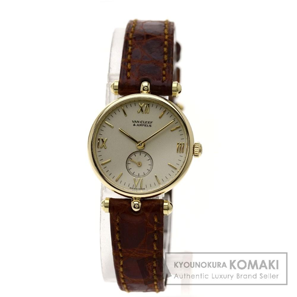 Van Cleef & Arpels ラ・コレクション 腕時計 K18イエローゴールド/革 レディース 【中古】【ヴァンクリーフ&アーペル】