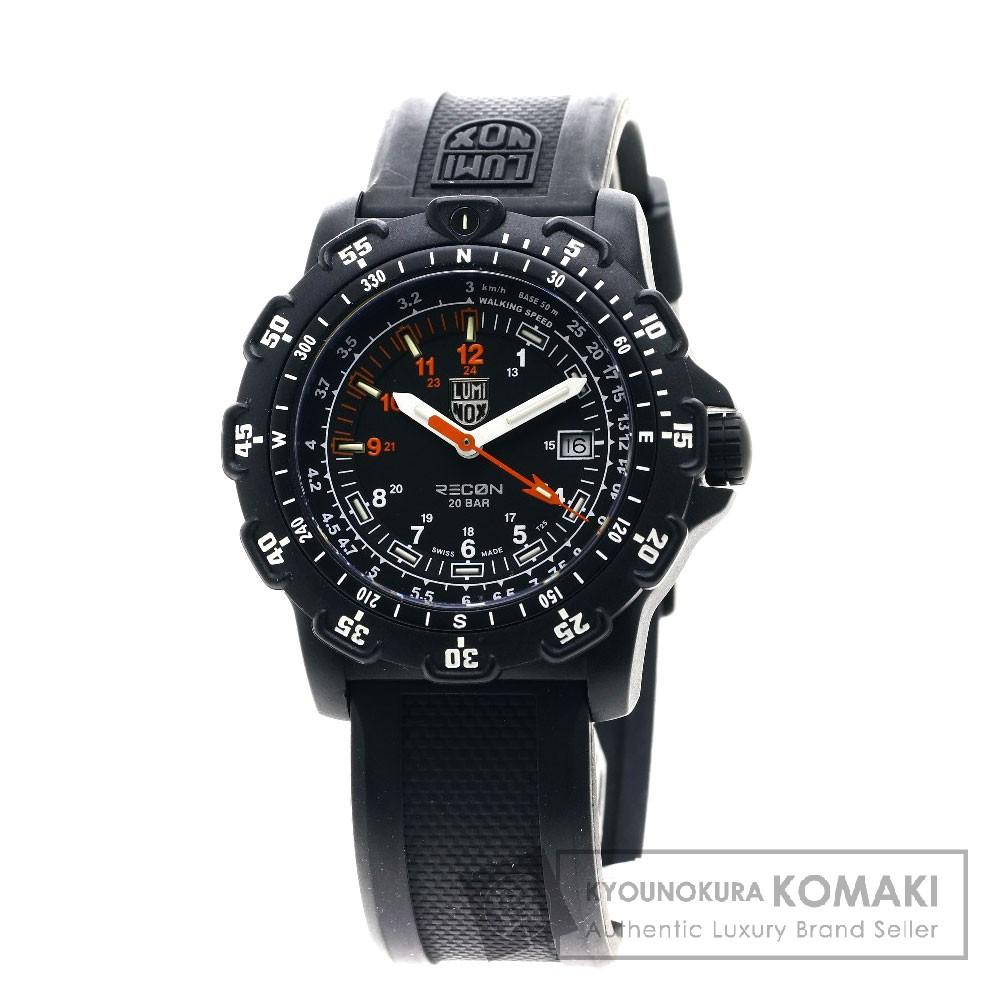 LUMINOX RECON8800 リーコン 腕時計 カーボン/ラバー メンズ 【中古】【ルミノックス】