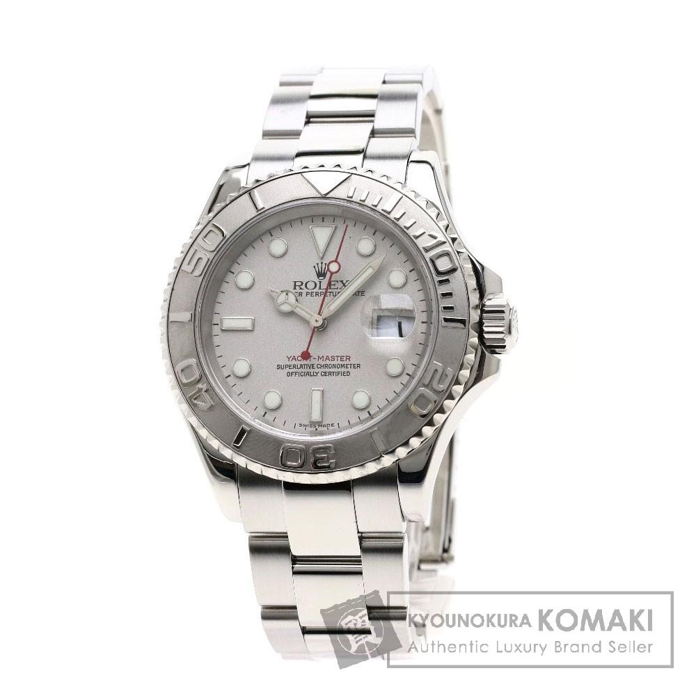 ROLEX 16622 ヨットマスター 腕時計 OH済 ステンレススチール メンズ 【中古】【ロレックス】