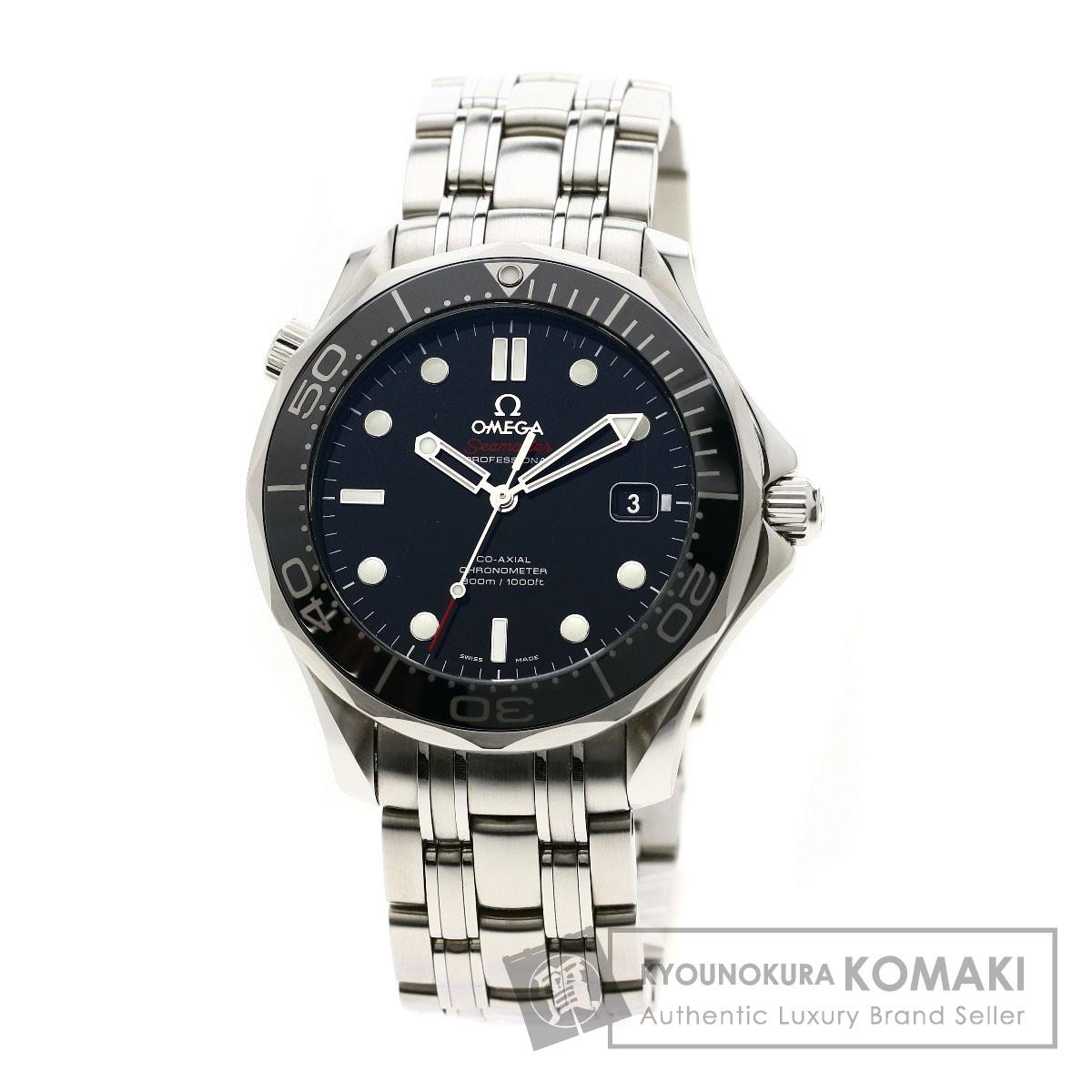 OMEGA 212.30.41.20.01.003 シーマスター300 コーアクシャル 腕時計 ステンレススチール メンズ 【中古】【オメガ】