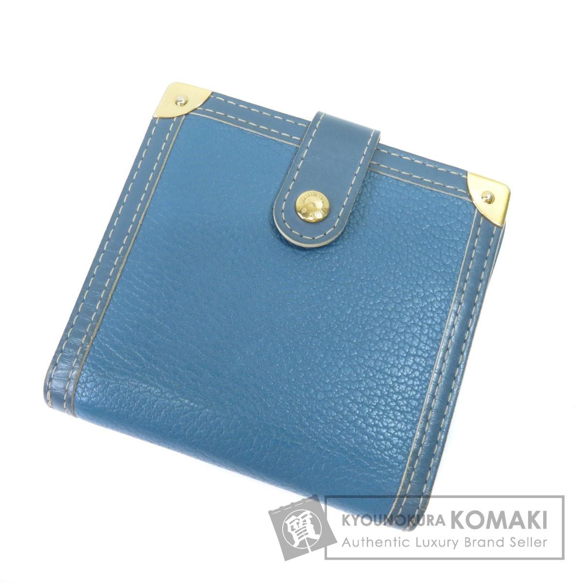 LOUIS VUITTON M91829 コンパクトジップ 二つ折り財布(小銭入れあり) スハリ レディース 【中古】【ルイ・ヴィトン】