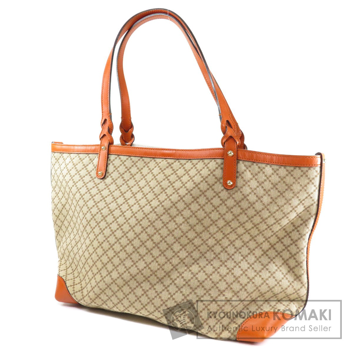 a80589ee97fa GUCCI 247209 520981 ディアマンテ トートバッグ レディース 【中古】【グッチ】 キャンバス/レザー-トートバッグ