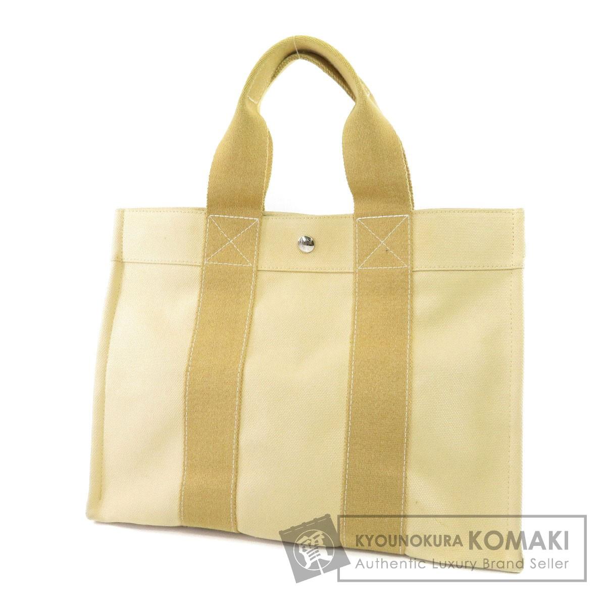 HERMES コキラージュPM トートバッグ キャンバス レディース 【中古】【エルメス】