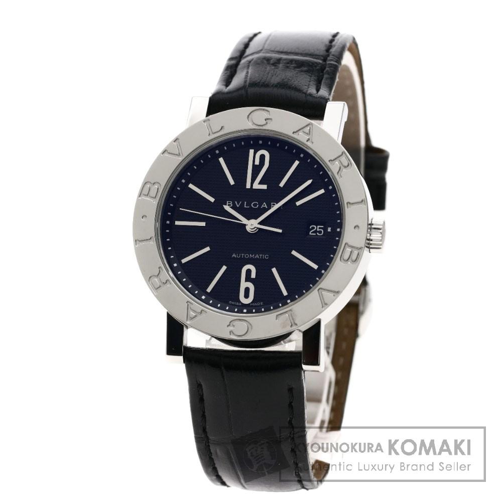 BVLGARI BB38BSLDAT/N  ブルガリブルガリ 腕時計 OH済 ステンレススチール/革 メンズ 【中古】【ブルガリ】