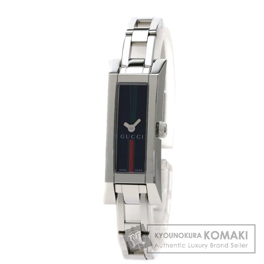 GUCCI 110 シェリーライン 腕時計 ステンレススチール/SS レディース 【中古】【グッチ】