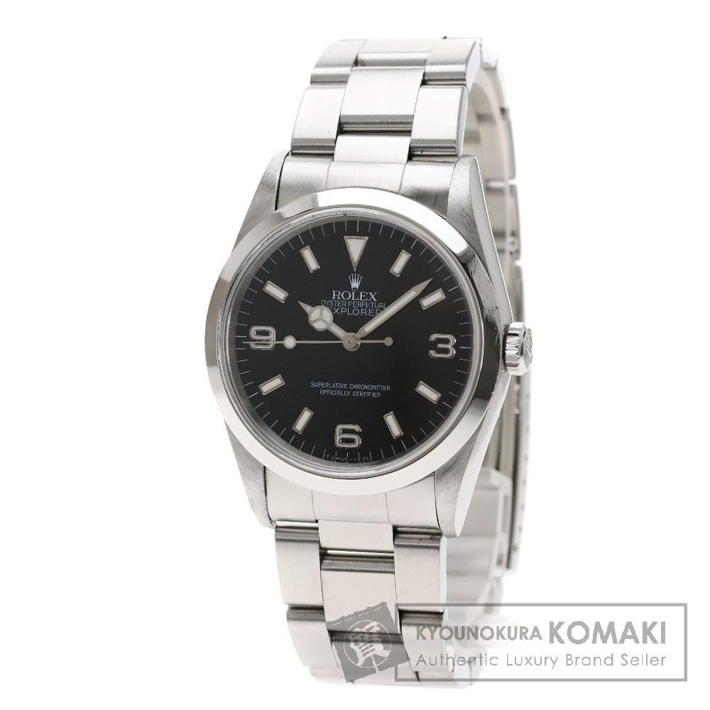 ROLEX 14270 エクスプローラー 腕時計 OH済 ステンレススチール/SS メンズ 【中古】【ロレックス】