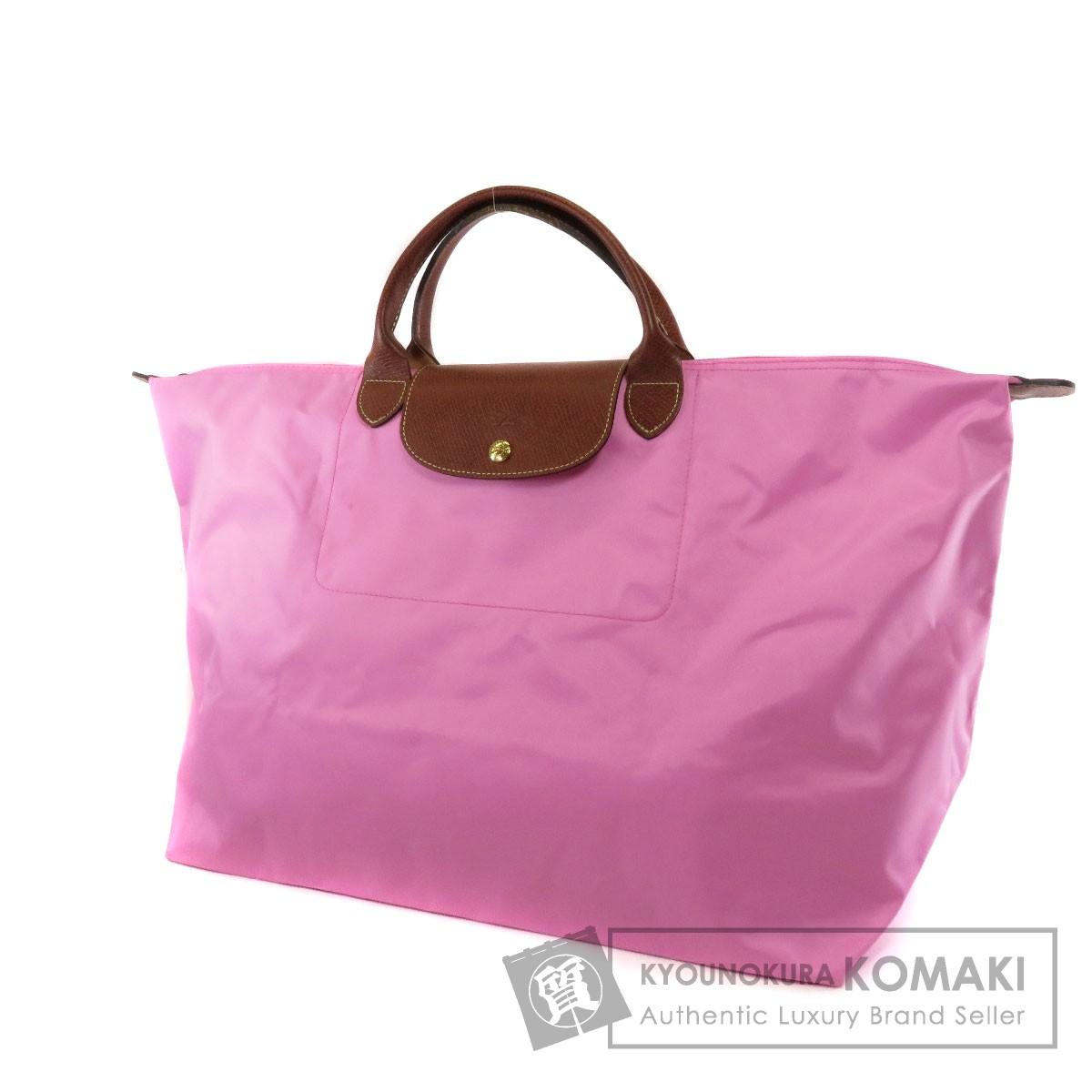 Longchamp ル・プリアージュ ハンドバッグ ナイロン素材 レディース 【中古】【ロンシャン】