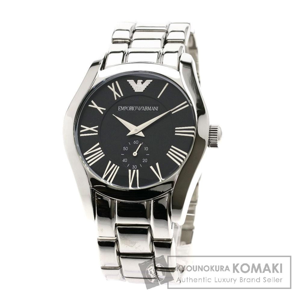 Emporio Armani AR0680 腕時計 ステンレススチール/SS メンズ 【中古】【エンポリオ・アルマーニ】