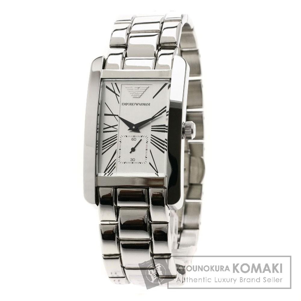 Emporio Armani AR-145 腕時計 ステンレススチール/SS メンズ 【中古】【エンポリオ・アルマーニ】