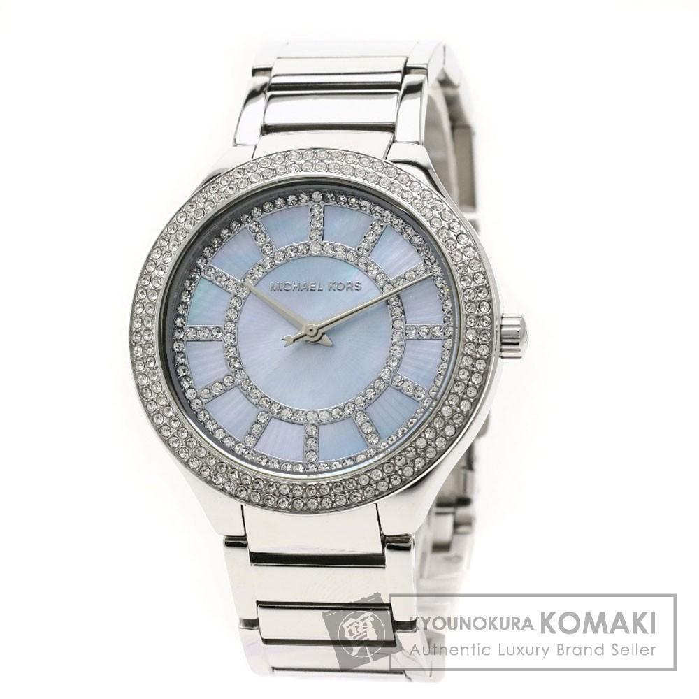 Michael Kors MK3395 ケリー 腕時計 ステンレススチール レディース 【中古】【マイケルコース】