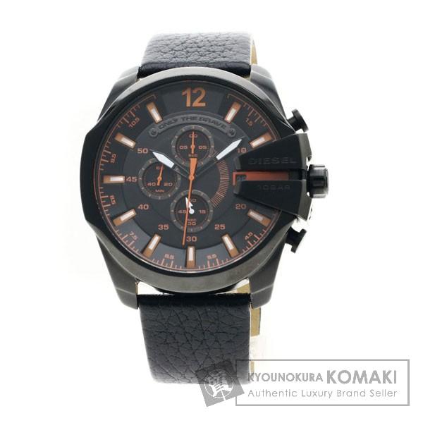 DIESEL DZ-4291 腕時計 ステンレススチール/革 メンズ 【中古】【ディーゼル】
