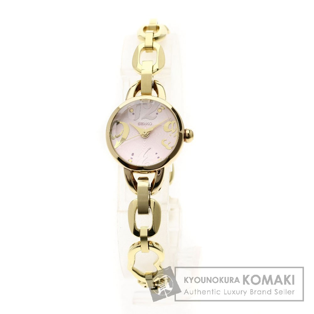 SEIKO ドーム型 腕時計 GP レディース 【中古】【セイコー】