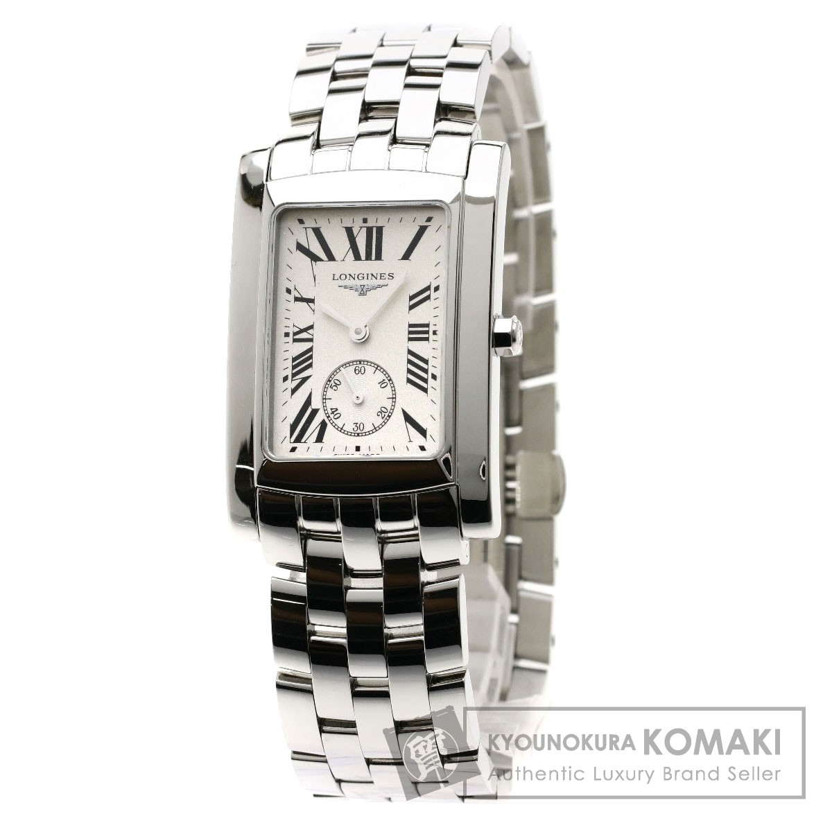 LONGINES L5.655.4 ドルチェビータ 腕時計 ステンレススチール メンズ 【中古】【ロンジン】