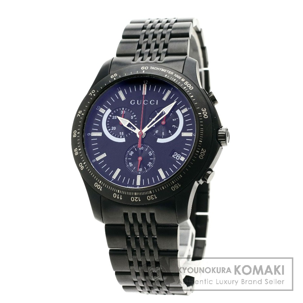GUCCI YA126258 Gタイムレス 126.2 腕時計 ステンレススチール メンズ 【中古】【グッチ】