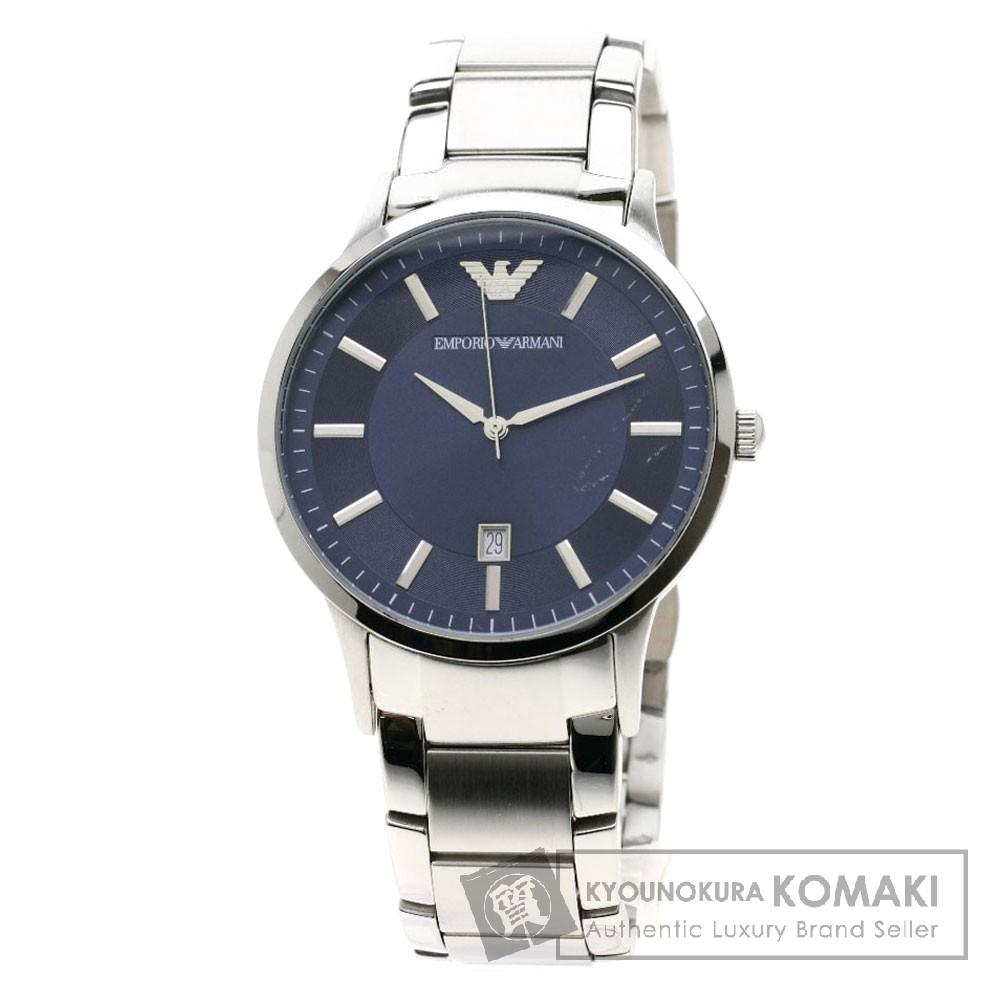 Emporio Armani AR-2477 腕時計 ステンレススチール メンズ 【中古】【エンポリオ・アルマーニ】