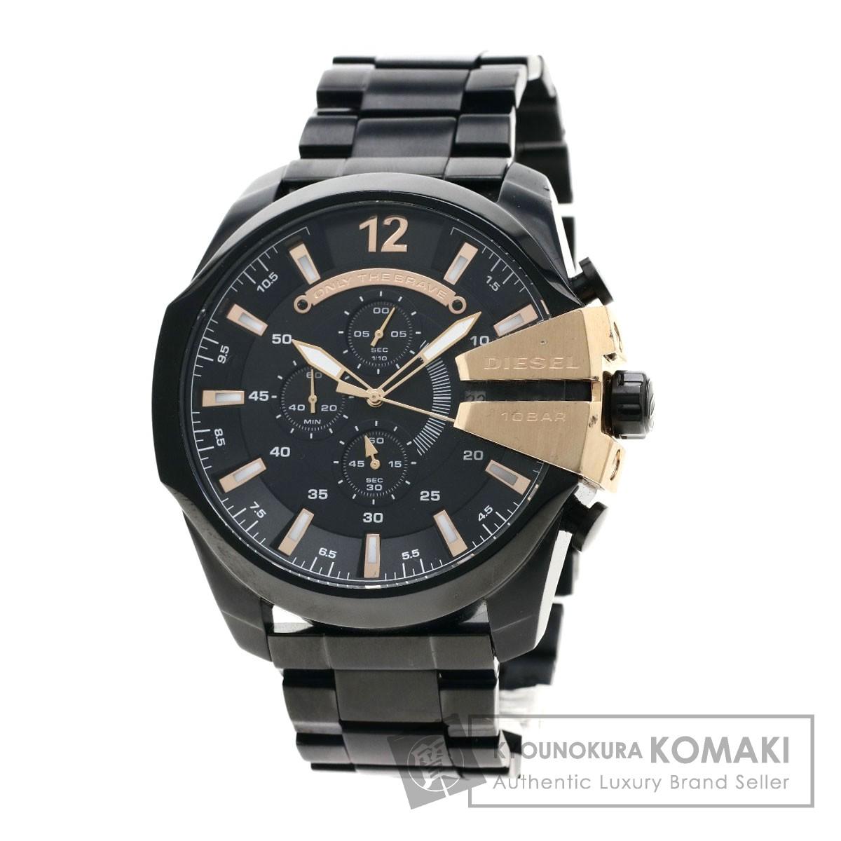 DIESEL DZ-4309 腕時計 ステンレススチール メンズ 【中古】【ディーゼル】