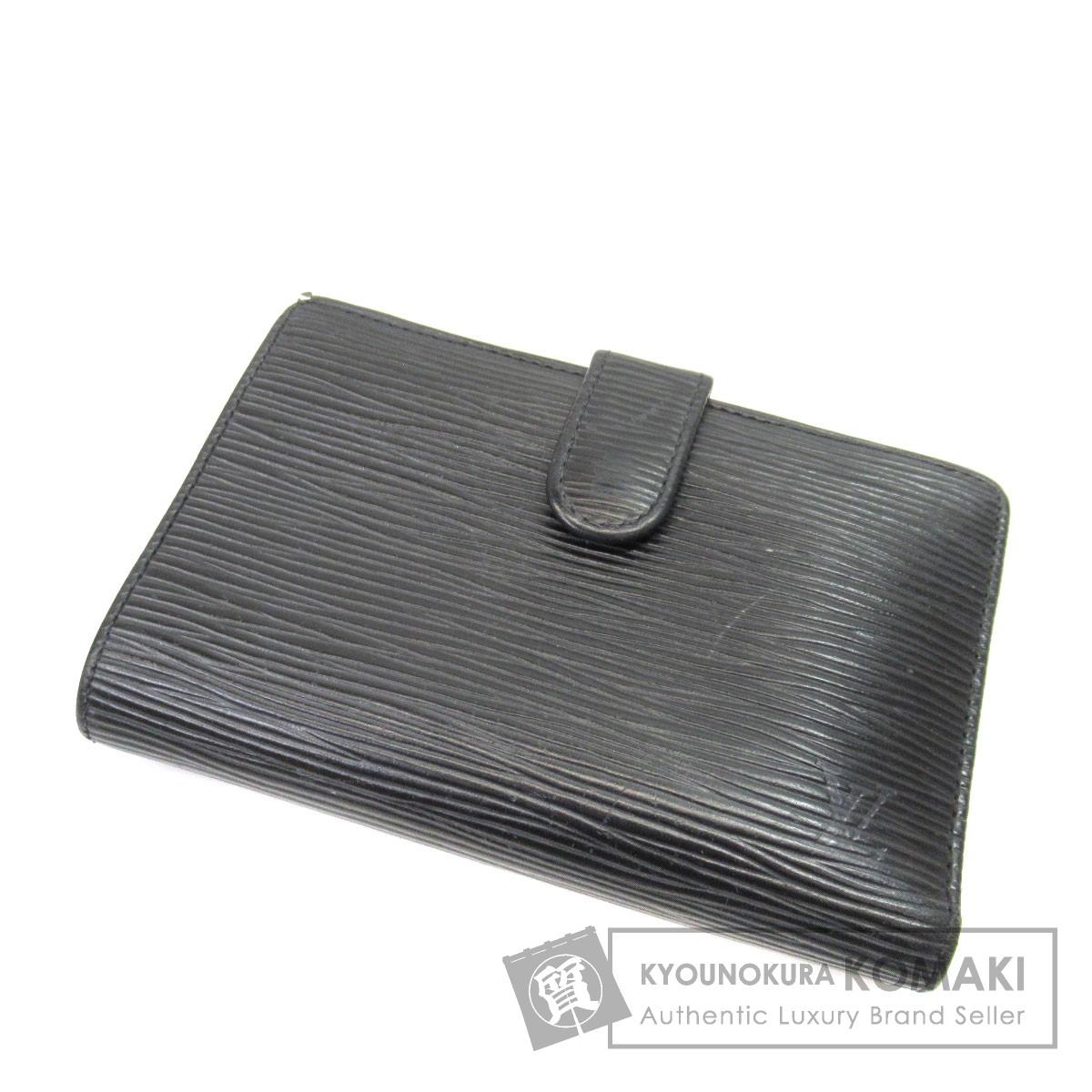 LOUIS VUITTON M63242 ガマグチ ポルトフォイユ・ヴィエノワ 二つ折り財布(小銭入れあり) エピレザー ユニセックス 【中古】【ルイ・ヴィトン】