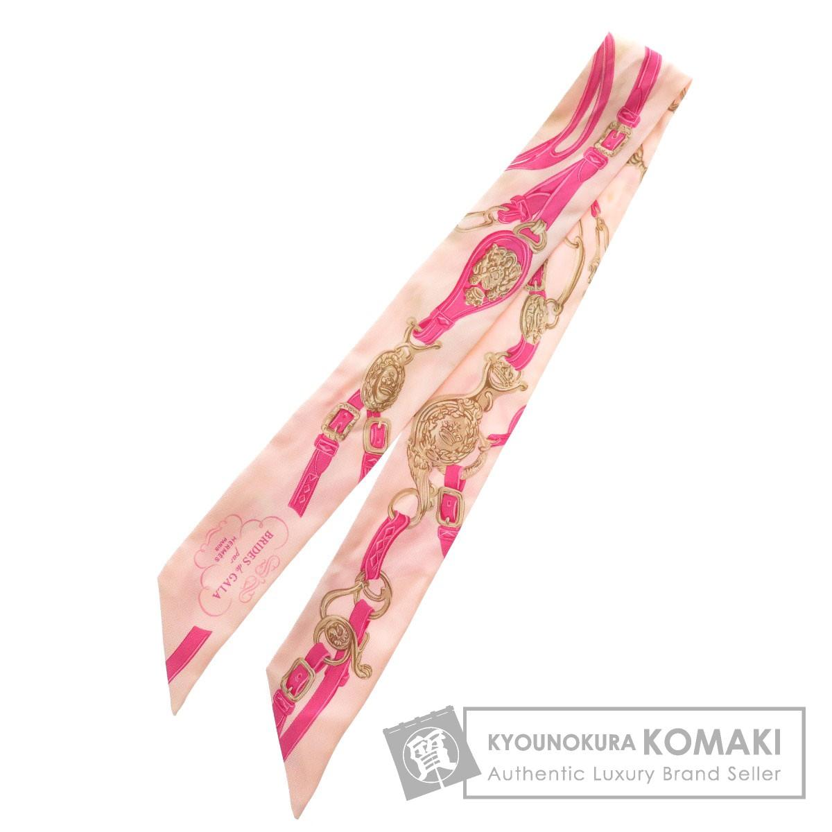 HERMES ツイリー BRIDES de GALA スカーフ シルク レディース 【中古】【エルメス】