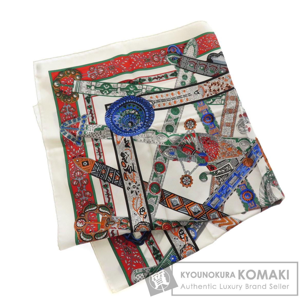 HERMES カレ90 LE SONGE DE LA LiCORNE スカーフ シルク レディース 【中古】【エルメス】