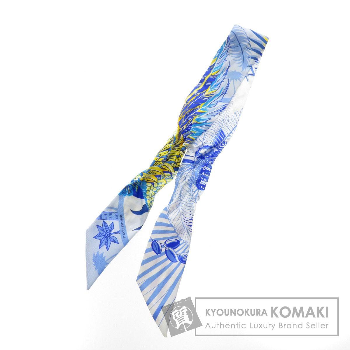HERMES ツイリー スカーフ シルク レディース 【中古】【エルメス】