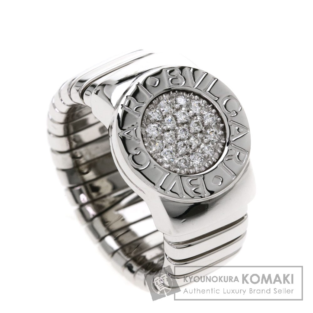 BVLGARI ブルガルブルガリ/トゥボガス/ダイヤモンド リング・指輪 K18ホワイトゴールド レディース 【中古】【ブルガリ】