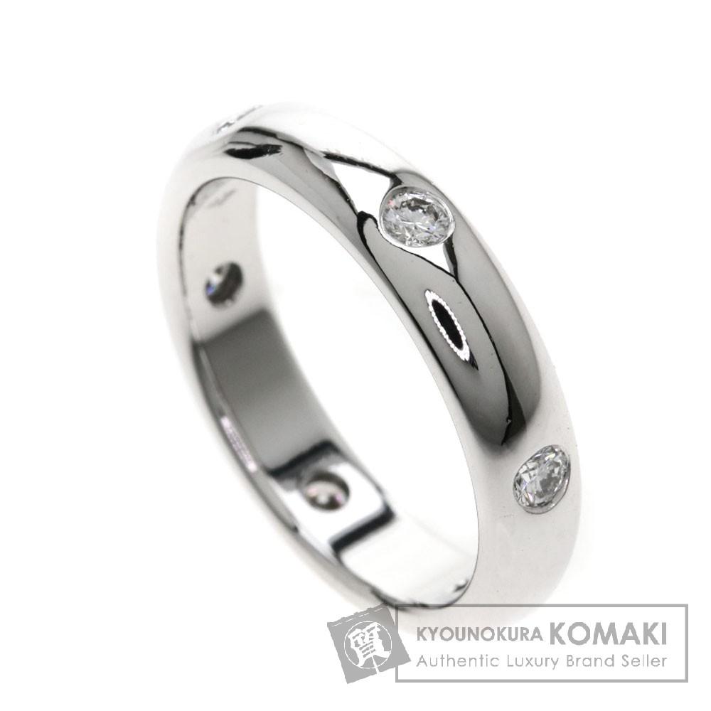CARTIER ステラリング/ダイヤモンド リング・指輪 K18ホワイトゴールド レディース 【中古】【カルティエ】