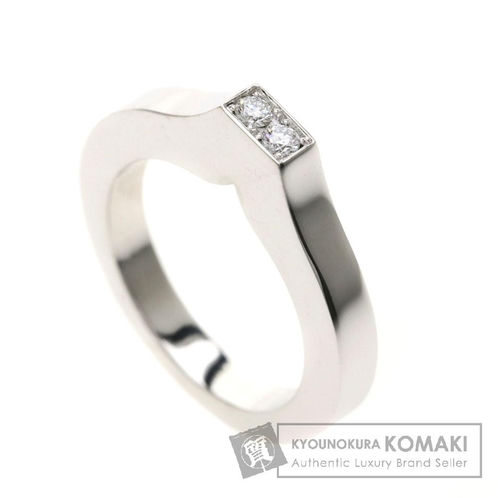 Chopard 82/3629/0 ダイヤモンド リング・指輪 K18ホワイトゴールド レディース 【中古】【ショパール】