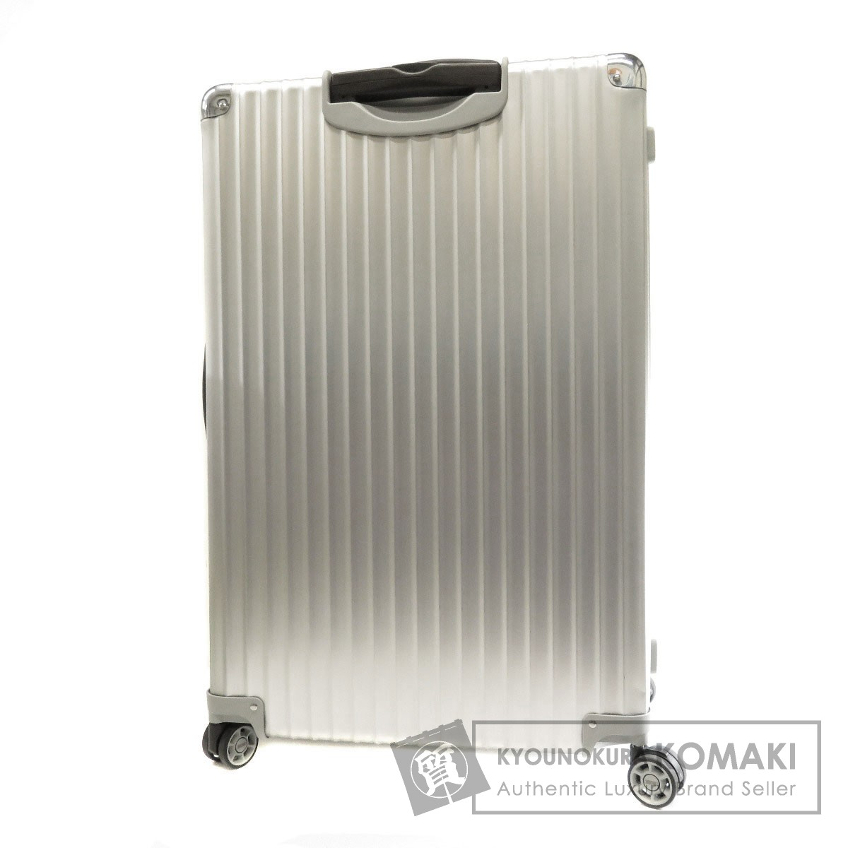 RIMOWA スーツケース キャリーバッグ アルミニウム ユニセックス 【中古】【リモワ】