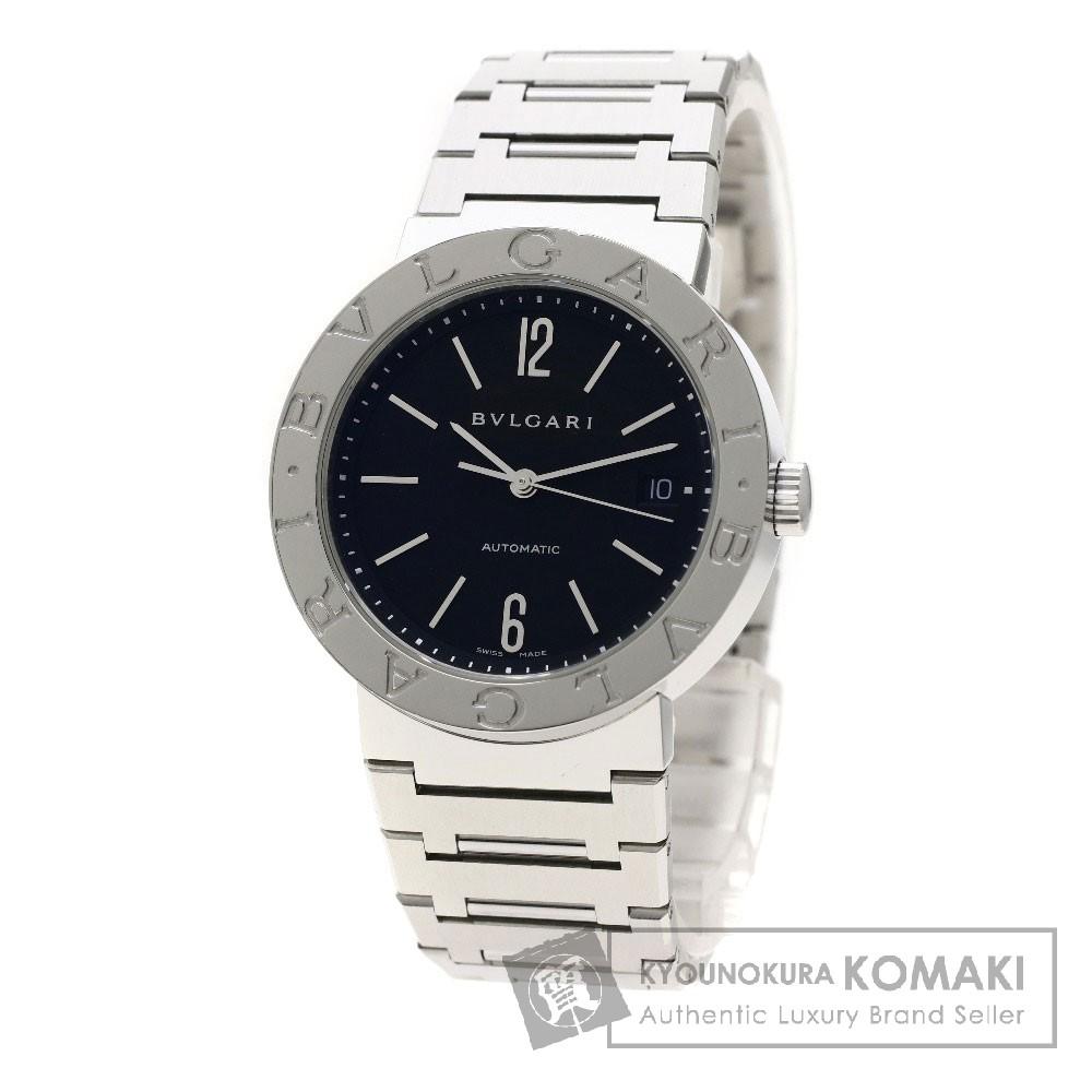 BVLGARI BB38SSD ブルガリブルガリ 腕時計 OH済 ステンレススチール/SS メンズ 【中古】【ブルガリ】
