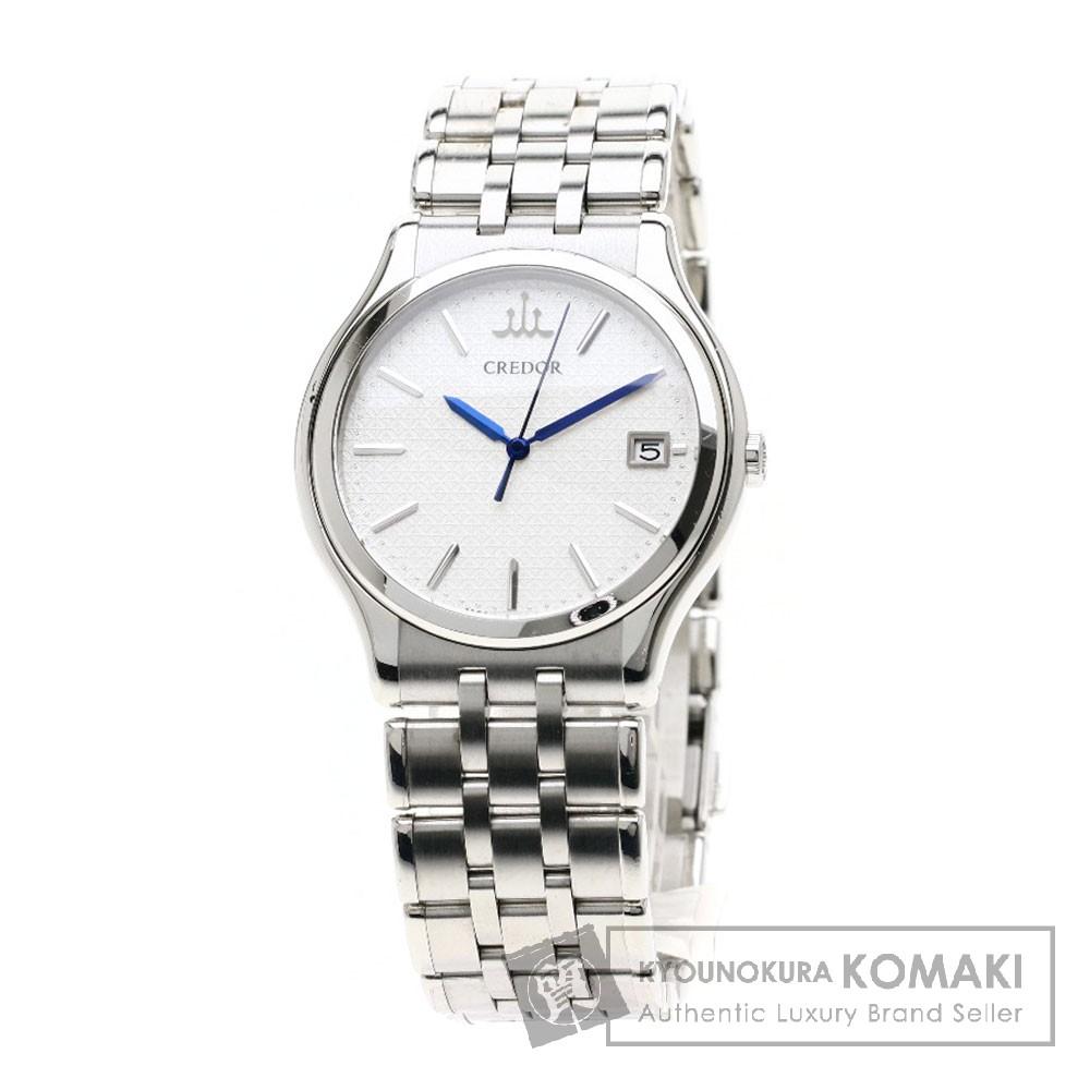 SEIKO GCAZ055 8J86-7A00 クレドール シグノ 腕時計 ステンレススチール メンズ 【中古】【セイコー】