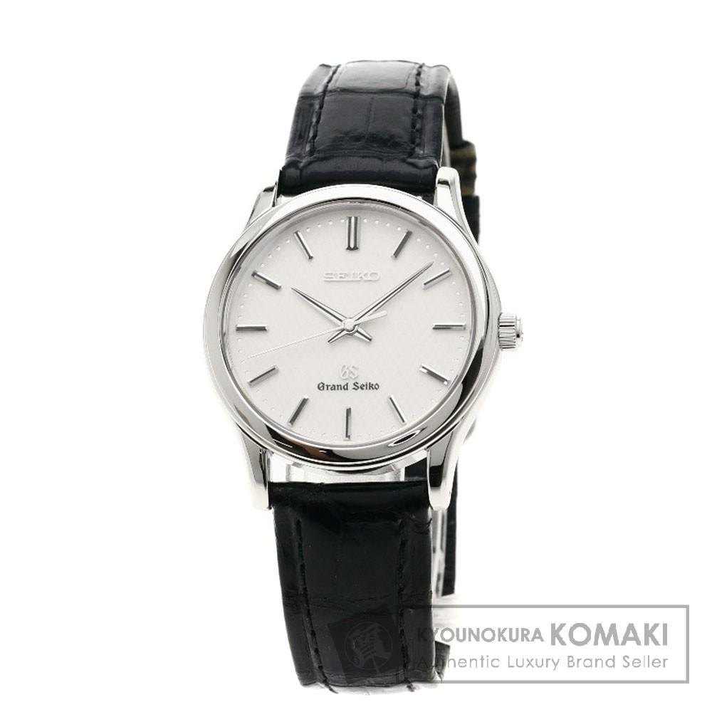 SEIKO 8J55-0AA0 グランドセイコー 腕時計 ステンレススチール/レザー メンズ 【中古】【セイコー】