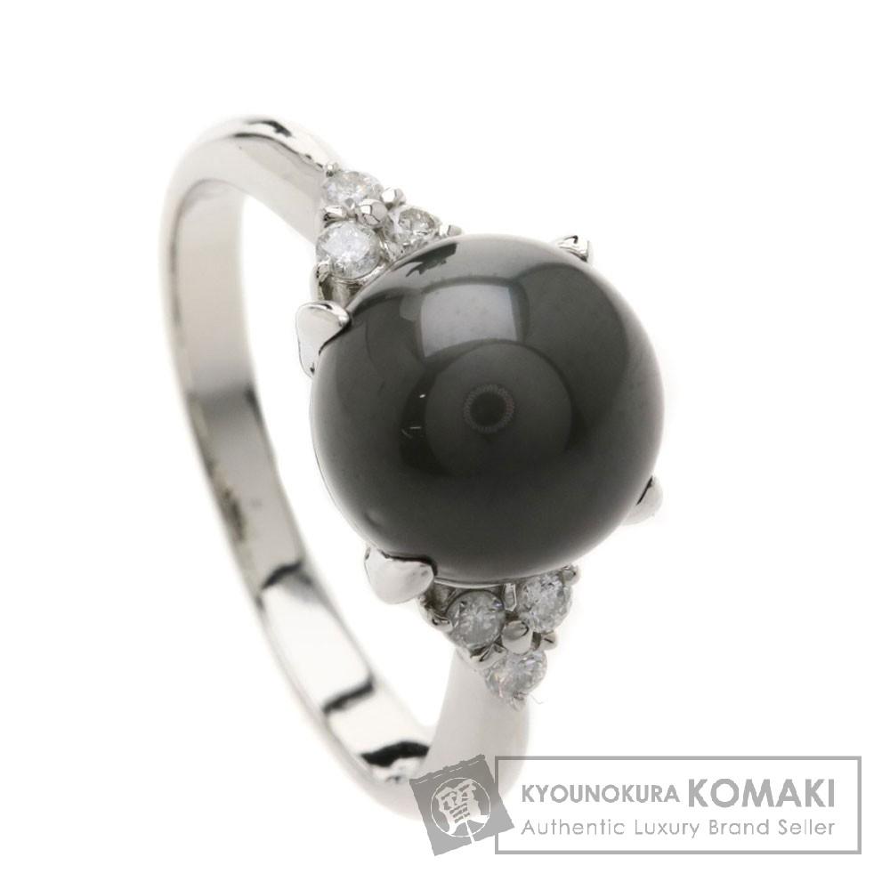 0.17ct パール/真珠/ダイヤモンド リング・指輪 プラチナPT900 5.1g レディース 【中古】
