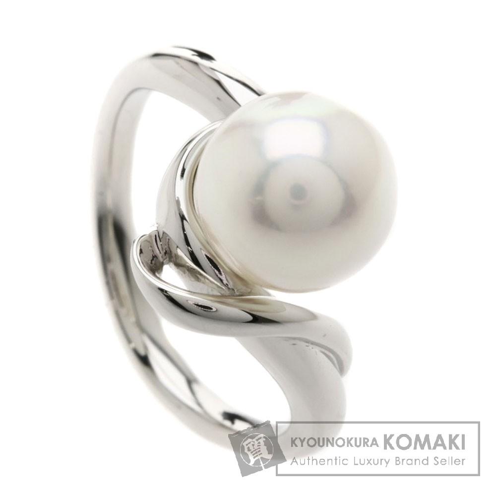 パール/真珠 リング・指輪 プラチナPT900 5.9g レディース 【中古】