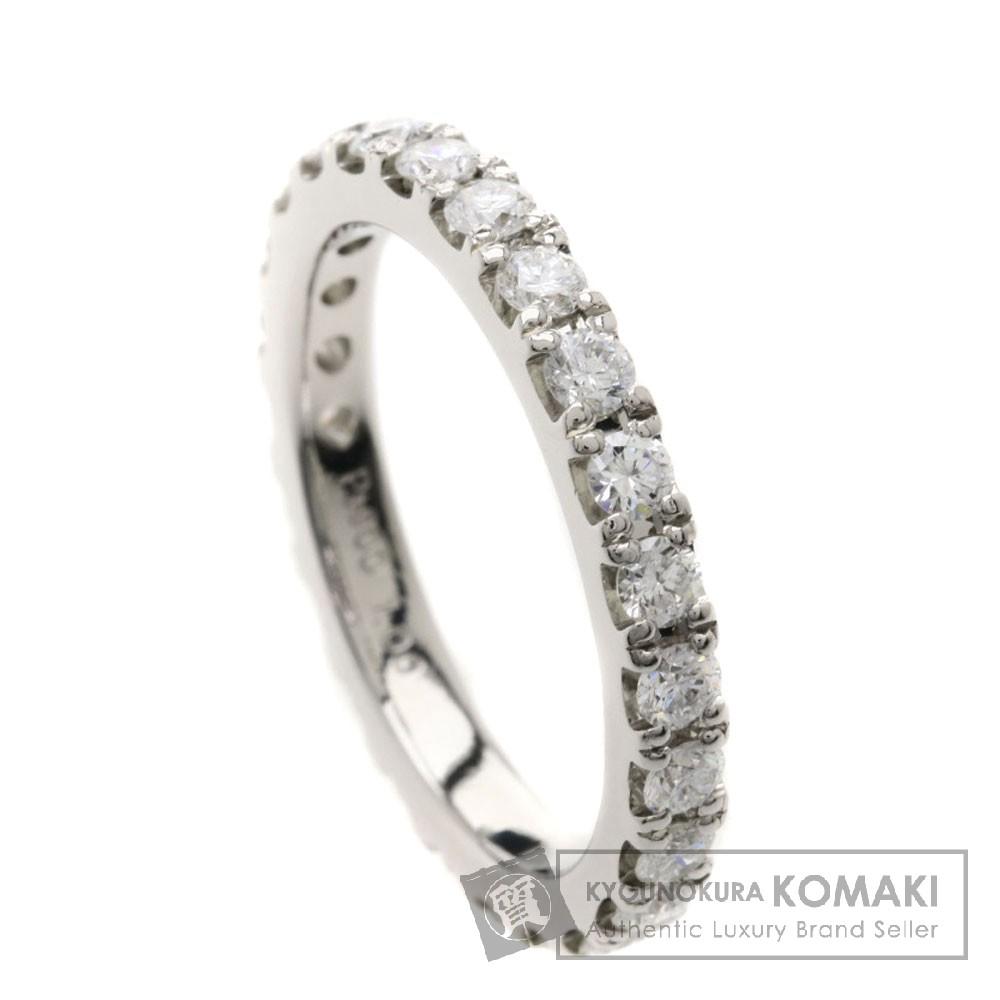 1ct ダイヤモンド/エタニティ リング・指輪 プラチナPT900 4.5g レディース 【中古】