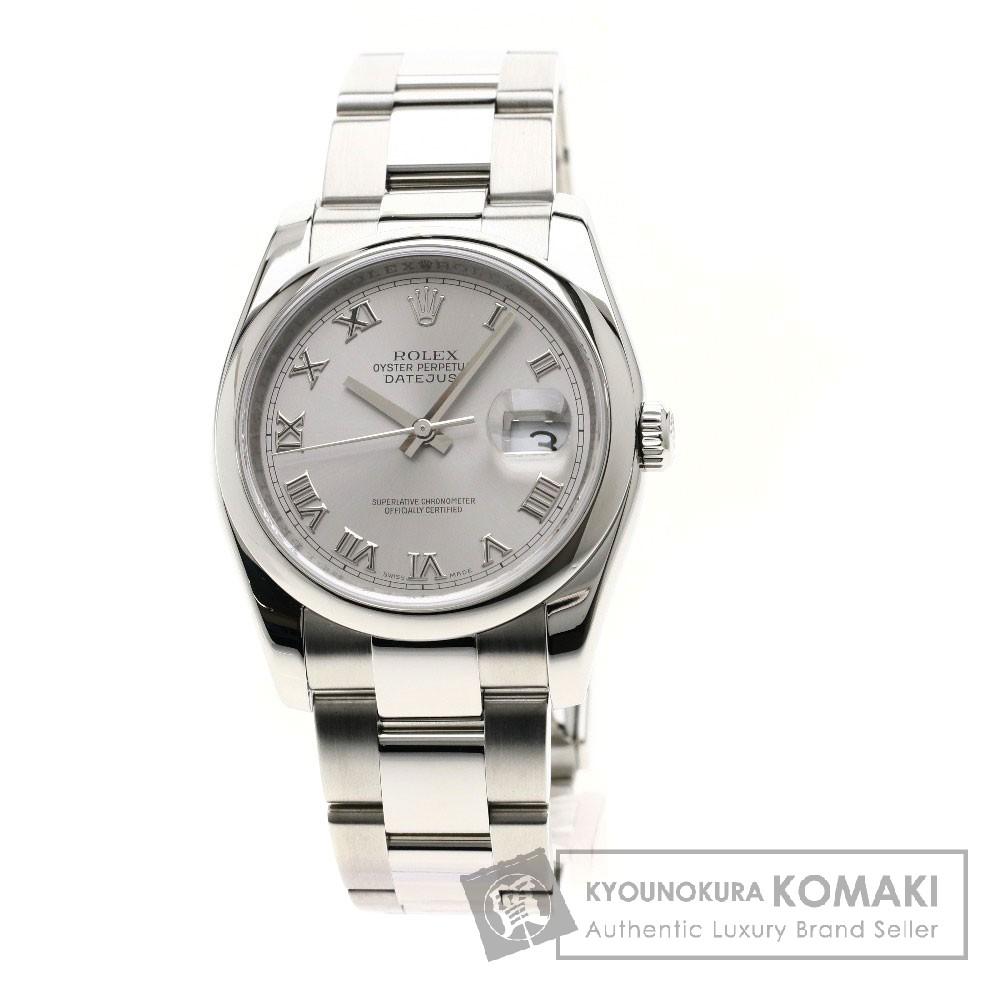 ROLEX 116200 デイトジャスト 腕時計 ステンレススチール/SS メンズ 【中古】【ロレックス】