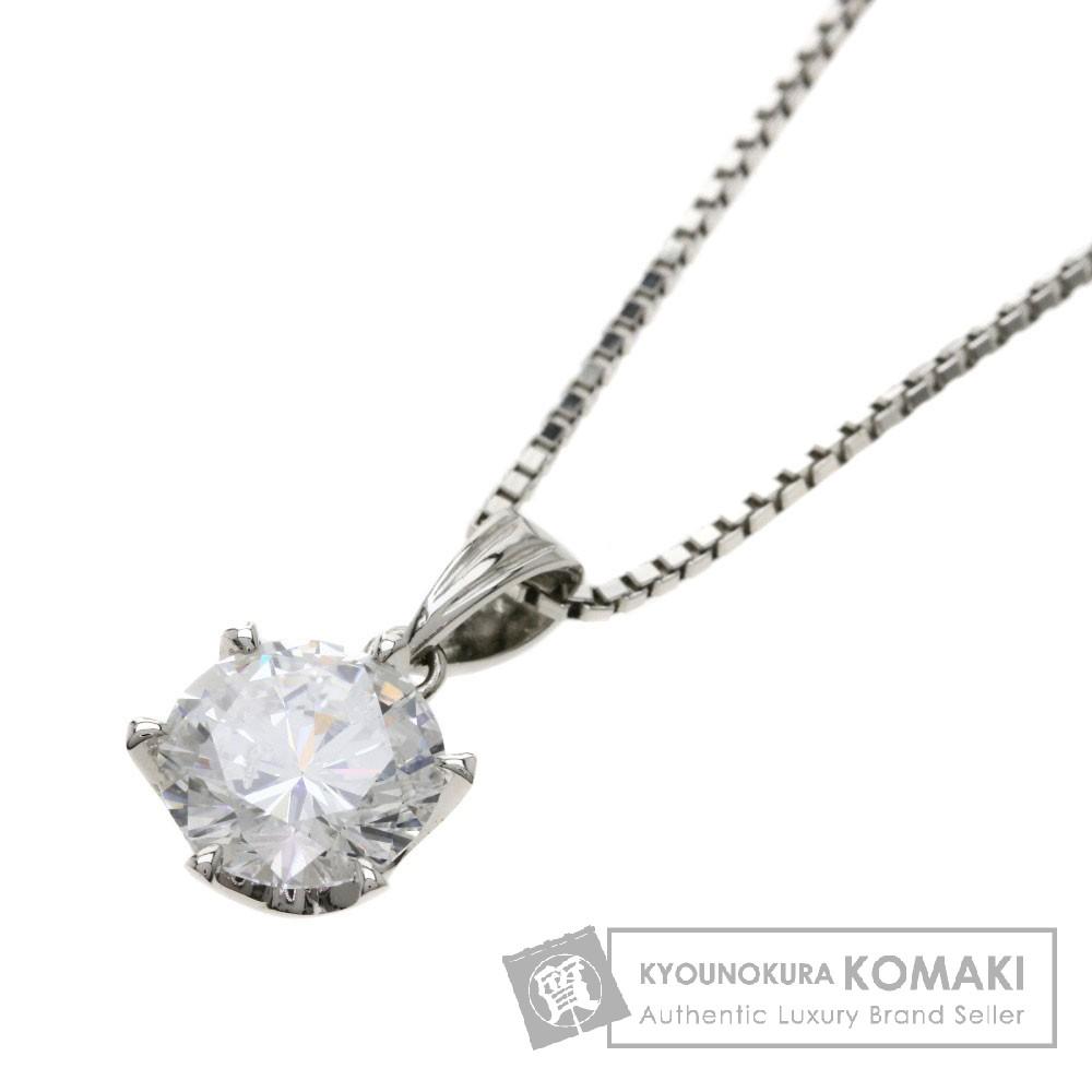 2.014ct ダイヤモンド ネックレス プラチナPT900/PT850 6.7g レディース 【中古】