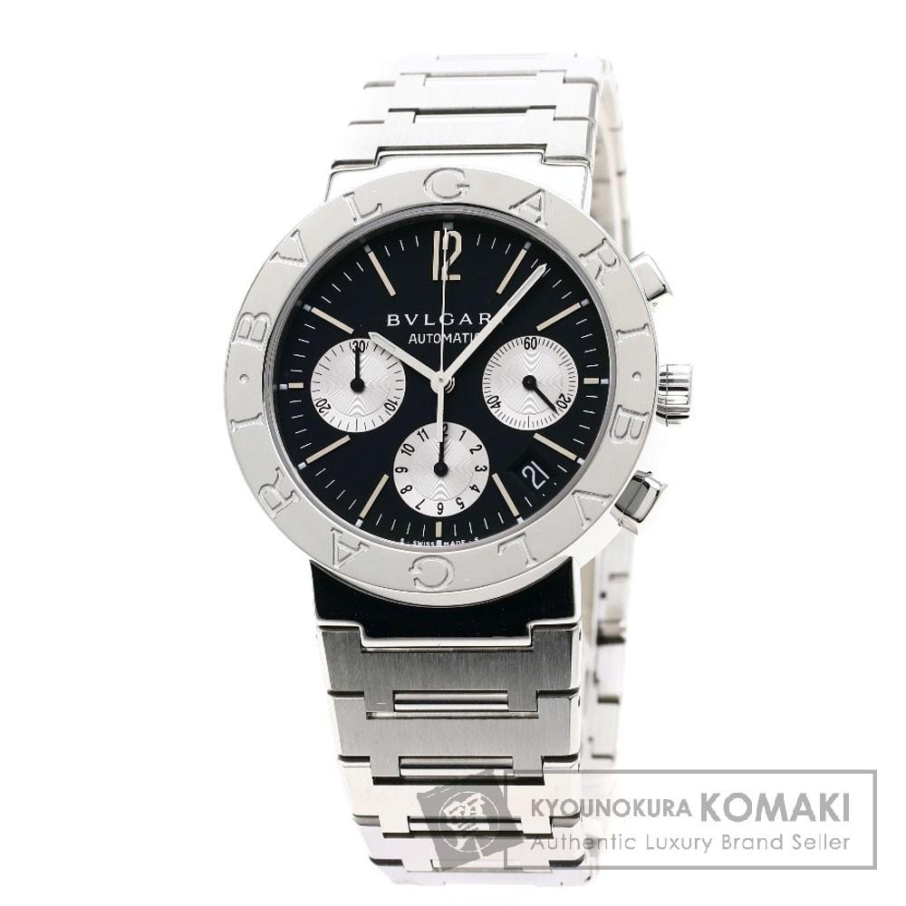 BVLGARI BB38SSDCH ブルガリブルガリ 腕時計 OH済 ステンレススチール メンズ 【中古】【ブルガリ】