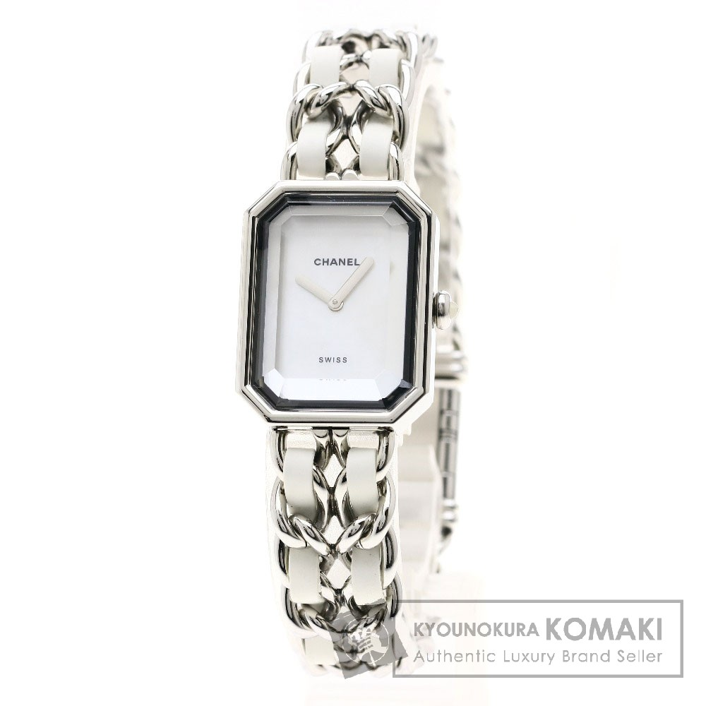 CHANEL H1639 プルミエールL 腕時計 ステンレススチール/ラバー レディース 【中古】【シャネル】